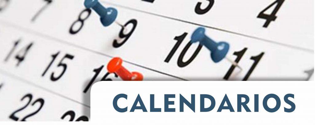 imagen ilustrativa calendario