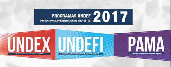 imagen afiche programas undef