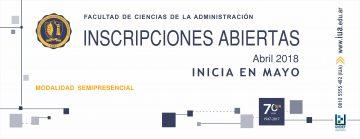 Inscripciones abiertas para iniciar en mayo / Modalidad semipresencial